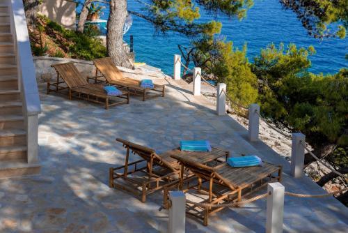 Luxury Beachfront Villa Brac Bliss with private pool at the beach on Brac island - Sumartin