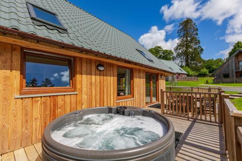 Lord Galloway 38 with Hot Tub Newton Stewart