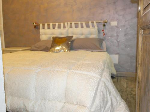 A bed or beds in a room at House with one bedroom in Vittoria with WiFi
