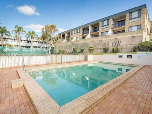 The swimming pool at or near 14 'THE DUNES', 38 MARINE DR - LARGE UNIT WITH POOL, TENNIS COURT AND DIRECTLY ACROSS FROM FINGAL