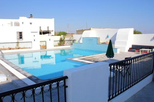 A view of the pool at Villa with 5 bedrooms in Djerba with private pool enclosed garden and WiFi 1 km from the beach or nearby