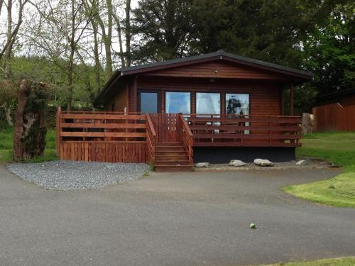 Birch Lodge 22 with Hot Tub Newton Stewart