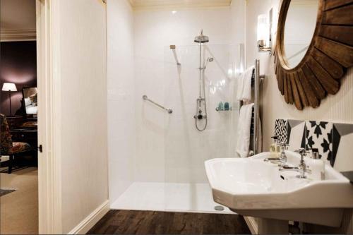 A bathroom at The Close Hotel
