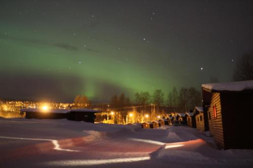 Saarituvat Cottages en invierno