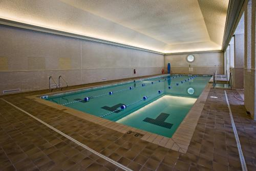 The swimming pool at or near Williamsburg Lodge, Autograph Collection