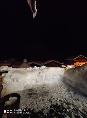 CHALET MARGHERITA durante l'inverno
