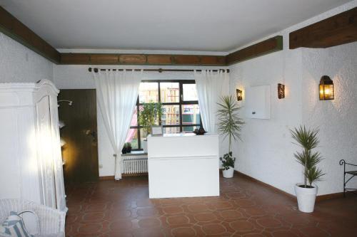 Küche/Küchenzeile in der Unterkunft Hotel Munding