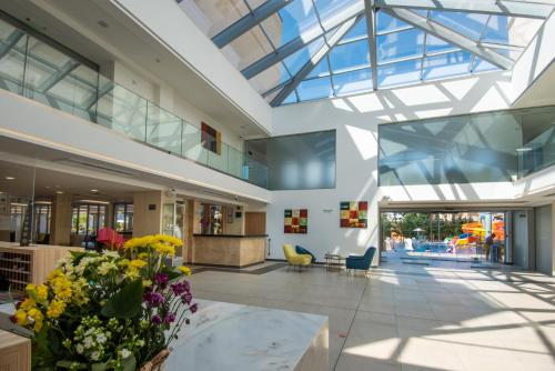 The lobby or reception area at Belvedere Hotel - All inclusive