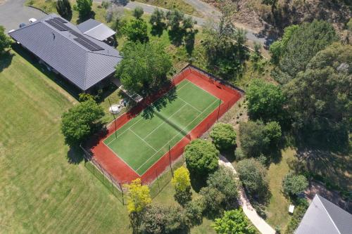 A bird's-eye view of Sovereign Hill Country Lodge Rothbury