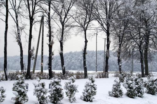 Obiekt Mercure Racławice Dosłońce Conference&SPA zimą