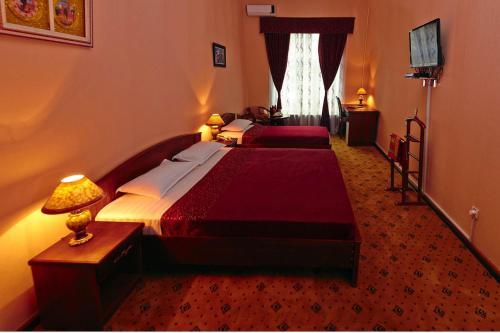 Cama o camas de una habitación en Mixt Royal Palace