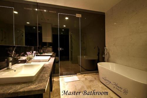A bathroom at Platinum Residence Kuala Lumpur