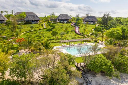A bird's-eye view of Jua Retreat