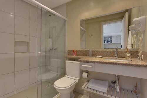 A bathroom at Flat Pietra