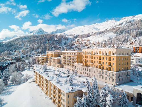 Kulm Hotel St. Moritz during the winter