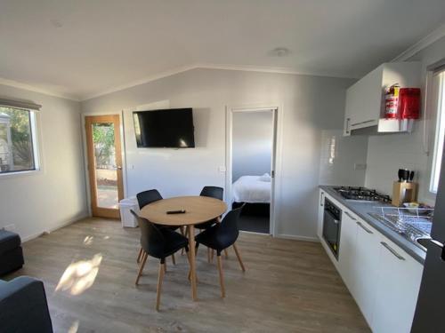 A kitchen or kitchenette at Warrnambool Holiday Village