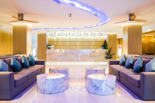 The lobby or reception area at Days Inn by Wyndham Aonang Krabi