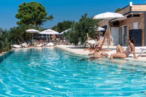 The swimming pool at or near Olivia Green Camping