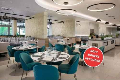 A restaurant or other place to eat at Valamar Meteor Hotel