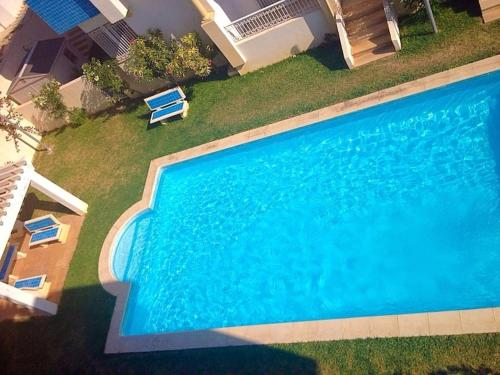 A view of the pool at Apartment with 2 bedrooms in Hammamet with wonderful sea view shared pool balcony 100 m from the beach or nearby
