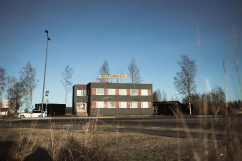 Rakennus, jossa motelli sijaitsee