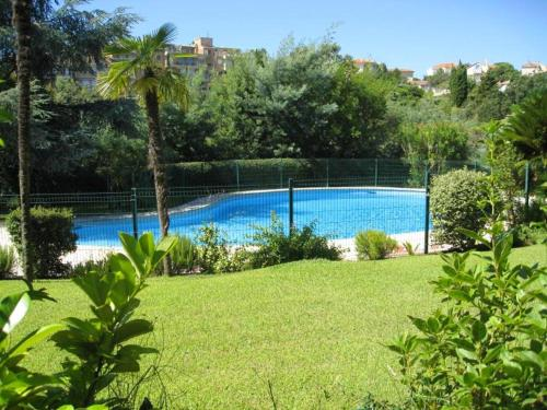 The swimming pool at or near Apartment with 2 bedrooms in Cannes with shared pool enclosed garden and WiFi 1 km from the beach