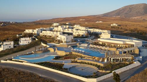 A bird's-eye view of Summer Senses Luxury Resort