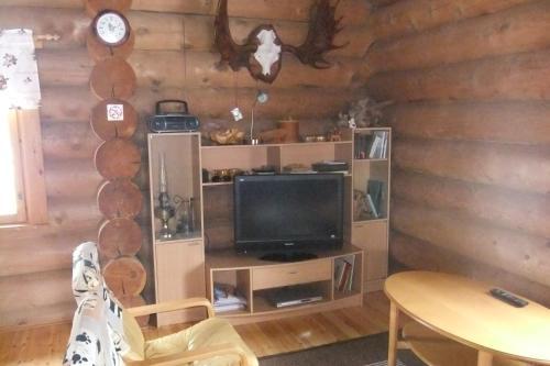 En tv och/eller ett underhållningssystem på Kunnari Cottage