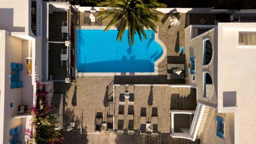 A view of the pool at Stelios Place or nearby