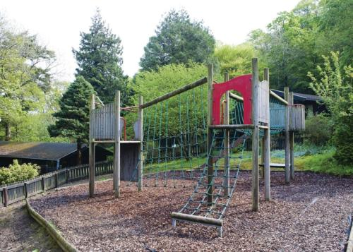 Children's play area at Brockwood Hall Lodges