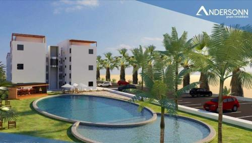 The swimming pool at or close to Asia departamento de playa