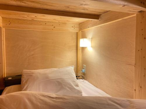ゲストハウス プレッタ トラミにあるベッド