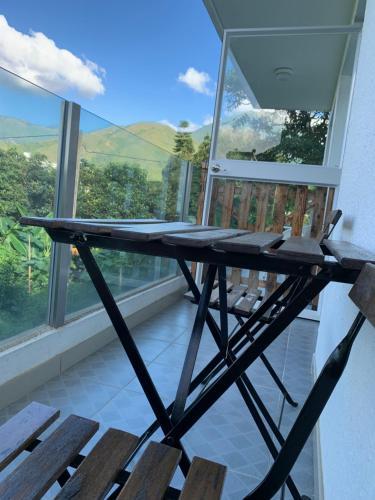 Balcon ou terrasse dans l'établissement City Oasis Guesthouse