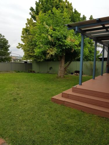 A garden outside Blue Wren BnB Bathurst