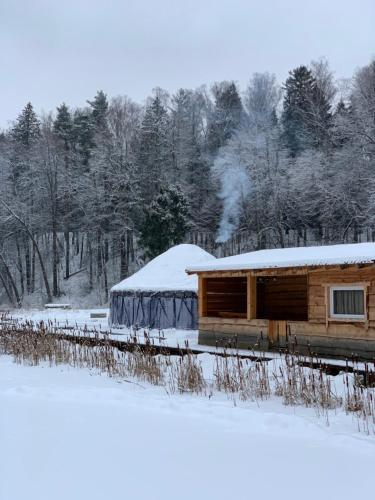 Тихие Беседы during the winter