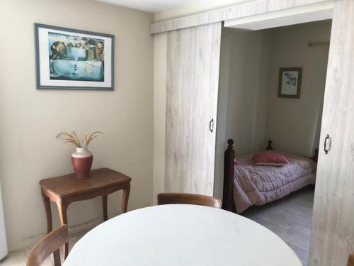 Un lugar para sentarse en La Morada Aparts & Suites