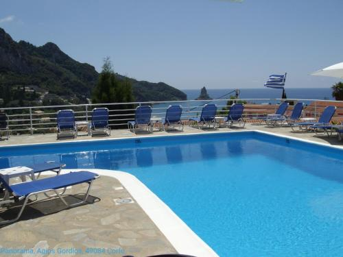 The swimming pool at or near Panorama Hotel