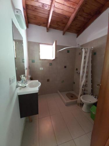 Un baño de Hostel Meridiano 71