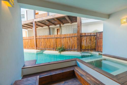 The swimming pool at or close to O' Tulum Boutique Hotel - Adults Only
