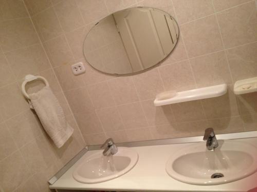 A bathroom at Mini-hotel Gorbunki