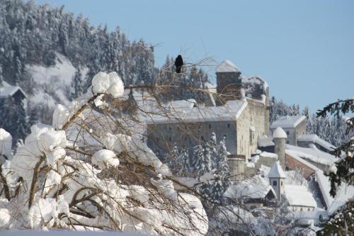 Haus Arnold im Winter