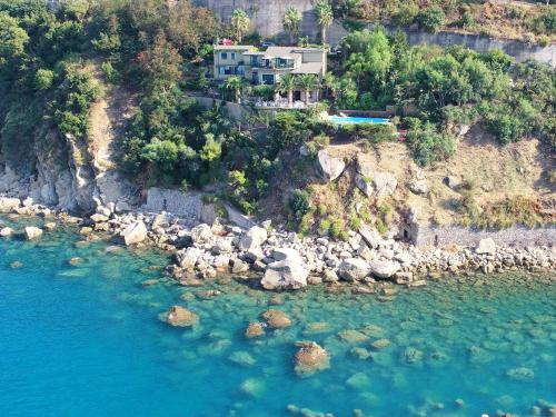 Vista aerea di Villa Anita