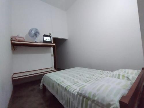 Cama o camas de una habitación en Pouso D' Braga