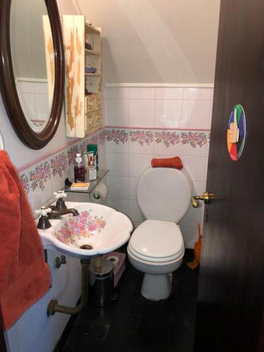 A bathroom at Lo del Colo