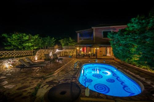 The swimming pool at or near Athenea Villas Private pools & private gardens totally individual