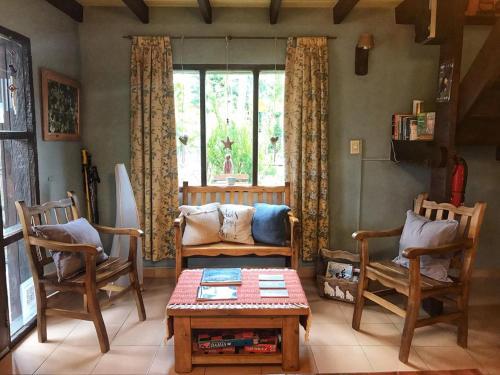 Un lugar para sentarse en Lago Viedma B&B