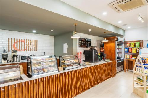 Um restaurante ou outro lugar para comer em Dreams Curacao Resort, Spa & Casino