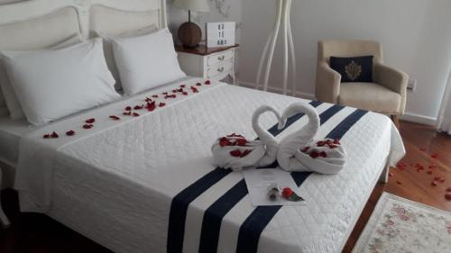 Cama ou camas em um quarto em Hotel Boutique Recanto da Passagem