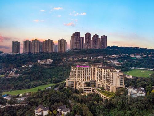 Crowne Plaza Chongqing New North Zoneの鳥瞰図