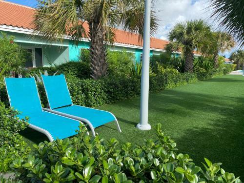 Um jardim em Sunhouse Curacao